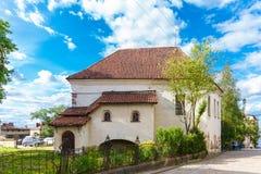 St ` s Hiacyntowy kościół lub rycerza dom Obraz Stock