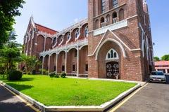 St ` s Maryjna katedra w Yangon, Myanmar Obraz Stock