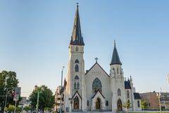 St ` s Maryjny kościół katolicki Lincoln, Nebraska obraz stock