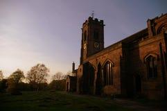 St ` s Maryjny kościół, Prestwich, UK zdjęcia stock