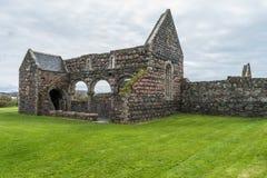 St ` s Maryjny Nunnery, wyspa Iona obrazy royalty free