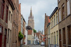 St Salvator cathedral in Brugge Stock Photography