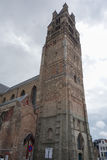 St Salvator cathedral in Brugge Stock Image