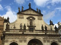 St. Salvator Church in Prague, Czech Republic stock photo