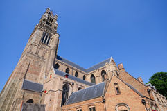 The St. Salvator's Cathedral in Bruges, Belgium Stock Photo