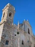 St. Salvatore church. Monopoli. Apulia. Stock Photography
