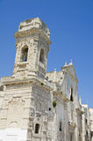St. Salvatore Church. Monopoli. Apulia. Royalty Free Stock Image