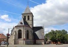 St Salvatore Church, Wieze, Bélgica Imagens de Stock Royalty Free