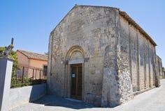St Salvatore dei Di della chiesa. Tarquinia. Il Lazio. L'Italia. Immagini Stock Libere da Diritti