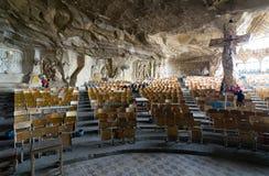 St Samaan坦纳霍尔,圣徒Samaan坦纳修道院 免版税库存照片