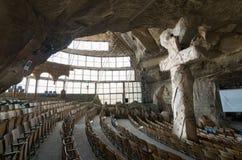 St Samaan Tanner Hall, Heilige Samaan Tanner Monastery Royalty-vrije Stock Foto's