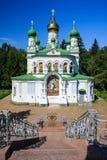 St. Sampson Church i Poltava Arkivbilder