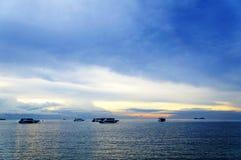 St Samui захода солнца, Таиланд Стоковое фото RF