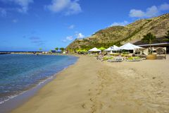 St San Cristobal, caraibico Fotografie Stock Libere da Diritti