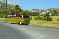 St San Cristobal, caraibico Immagini Stock Libere da Diritti