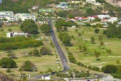 St San Cristobal, del Caribe Fotos de archivo