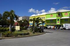 St San Cristobal, del Caribe Foto de archivo