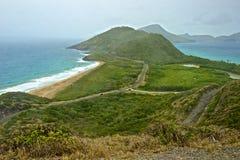 St San Cristobal e Nevis, caraibici Fotografia Stock Libera da Diritti