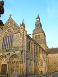 St Sauveur church in Dinan, Bretagne, France Stock Image