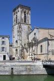 St Sauveur Church in the port of La Rochelle - France Stock Image