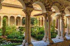 St- Sauveurkloster in der Kathedrale in Aix-en-Provence, Frankreich stockfotografie