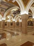 St Sava Belgrade Serbia för ortodox kyrka fotografering för bildbyråer