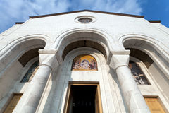 St. Sava Cathedral Royalty Free Stock Photos
