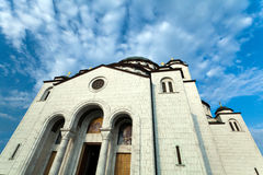 St. Sava Cathedral Royalty Free Stock Photography