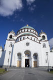 St. Sava Cathedral in Belgrade, Capital city of Serbia Royalty Free Stock Photo