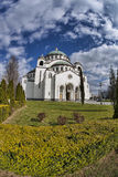 St. Sava Cathedral in Belgrade, Capital city of Serbia Stock Photography
