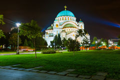 St. Sava Cathedral - Belgrade - Serbia Royalty Free Stock Photography