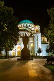 St Sava Cathedral - Belgrado - Servië Stock Foto