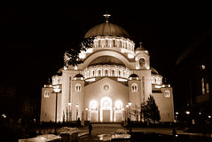 St.Sava Cathedral In Belgrade Stock Photos