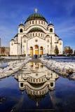 St Sava chapel Stock Photography