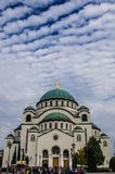 St Sava Church, Belgrade images libres de droits