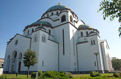 St. Sava Church in Belgrade Royalty Free Stock Photography