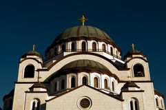 St Sava temple Royalty Free Stock Photo