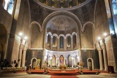 St. Sava Temple Royaltyfri Bild