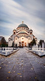 St. Sava Temple in Belgrade Royalty Free Stock Photography