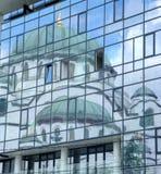 St. Sava temple Stock Image