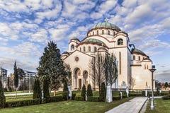 St. Sava Temple - The World Largest Orthodox Church - Belgrade - Serbia Stock Photos