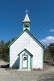 St Saviourkerk - Carcross - Alaska stock afbeelding