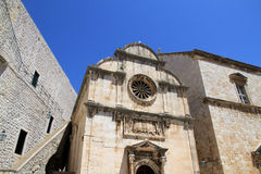 St. Saviour Church, Dubrovnik. St. Saviour Church is a small votive church located in the old town of Dubrovnik. It is dedicated to Jesus Christ Royalty Free Stock Photo