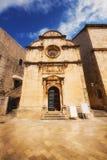 St. Saviour Church in Dubrovnik Royalty Free Stock Image