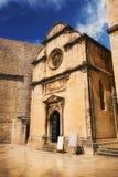 St. Saviour Church in Dubrovnik Stock Image
