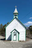 St Saviour´s church - Carcross - Alaska. stock image