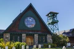 St. Saviour's Episcopal Church in Bar Harbor, USA, 2015 Royalty Free Stock Image