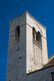 St. Scolastica Belltower. Bari. Apulia. Royalty Free Stock Images