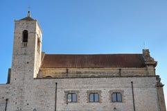 St. Scolastica Church. Bari. Apulia. stock images