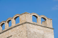 St. Scolastica Church. Bari. Puglia. Italy. Royalty Free Stock Image